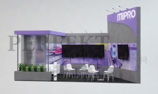 MIPRO OY - projekt stoiska